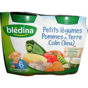 PURÉES DE LÉGUMES BLEDINA Petits pots Petits légumes pommes de terre