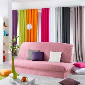 housse de banquette convertible rose achat vente housse de banquette convertible rose pas. Black Bedroom Furniture Sets. Home Design Ideas
