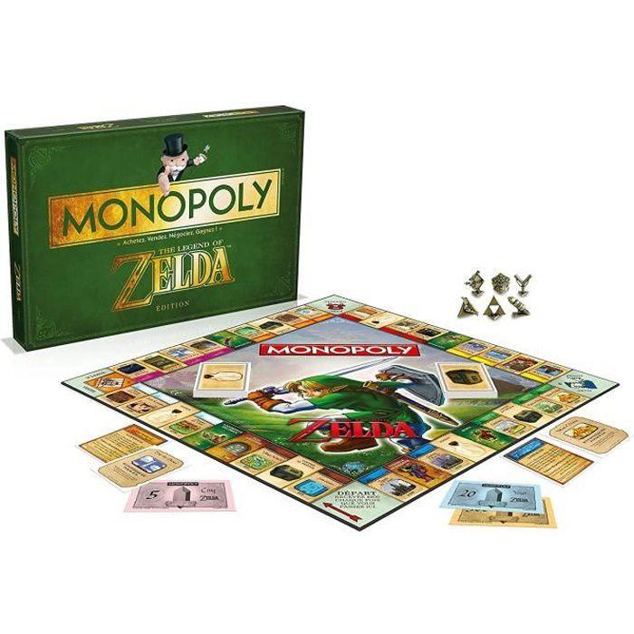 Jeu de société Monopoly: Zelda