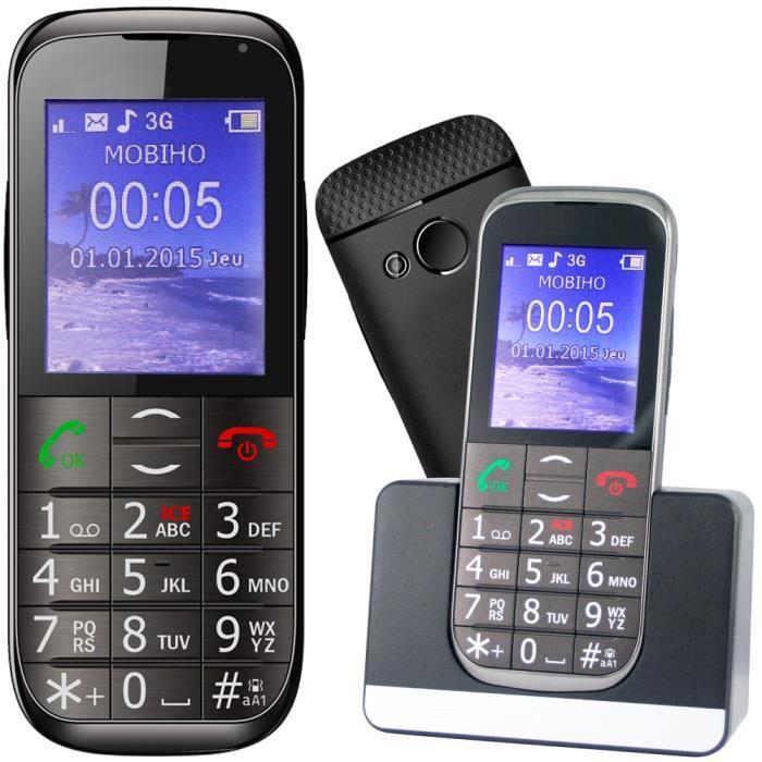Le CLASSIC ELEGANT 2 - 3G. Sénior, 3G, 2G et GSM - SOS - 7 appel ... 49bb120cad8b