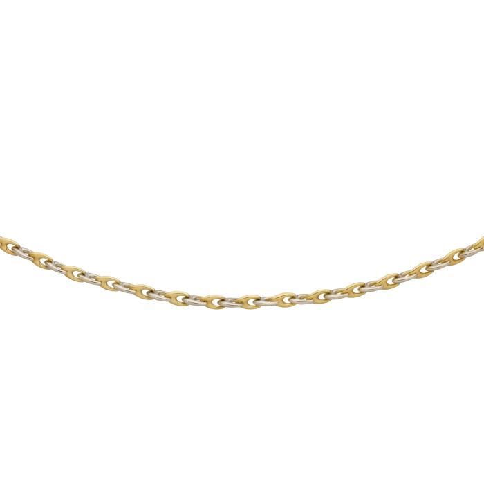 DIAMANTLY Collier etrier 6.00 mm or 375-1000 - 45.0 cm