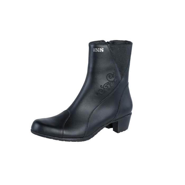 X Bottes LEA 2 noir Achat Vente chaussure botte X