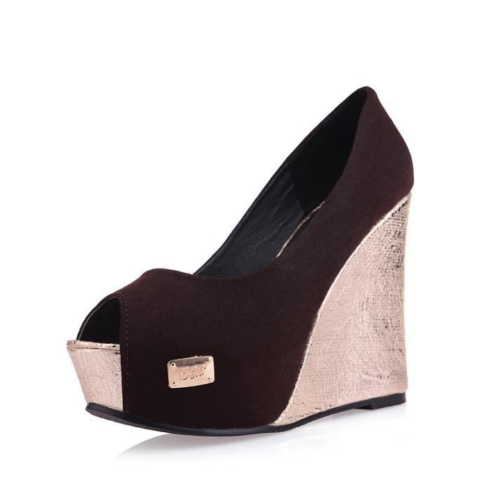 sandale à bout ouvert Les Chaussures pour Femme...