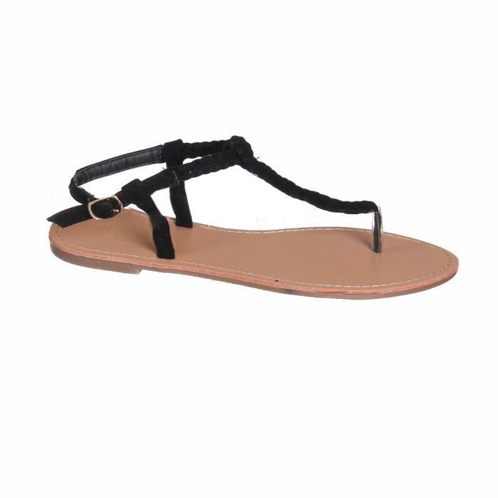 Sandales aspect corde e