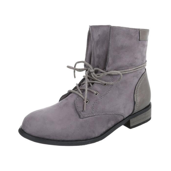 femmes chaussures bottillonBottes à lacets | Jeans bottes Boots | arbre court bottes | Bottines plates | bottillonle laçage |