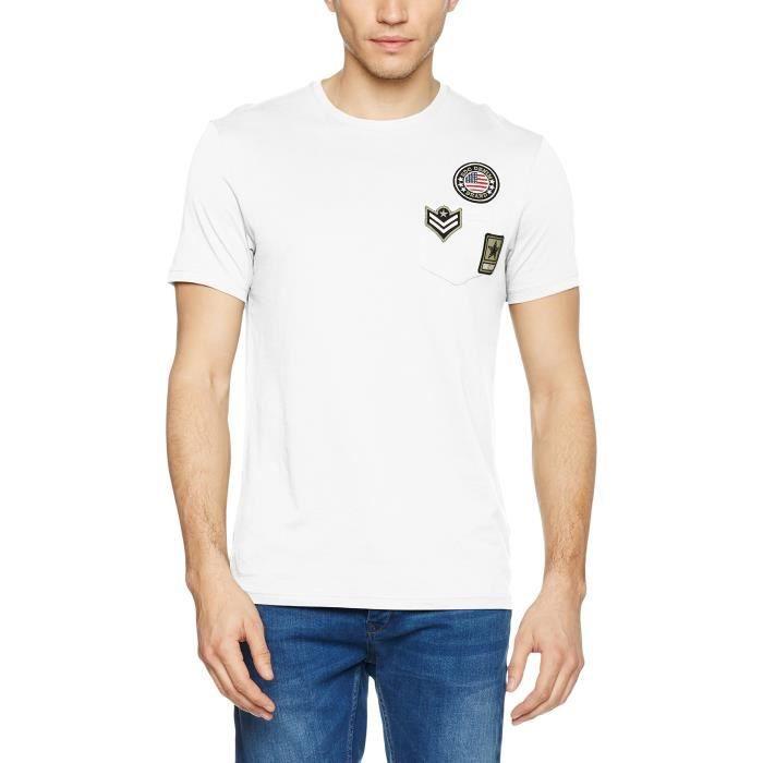 Achat S Vente Edc By Taille Esprit 1ledt8 Blanc T Shirt 8YfFq8w 2d60895feb3