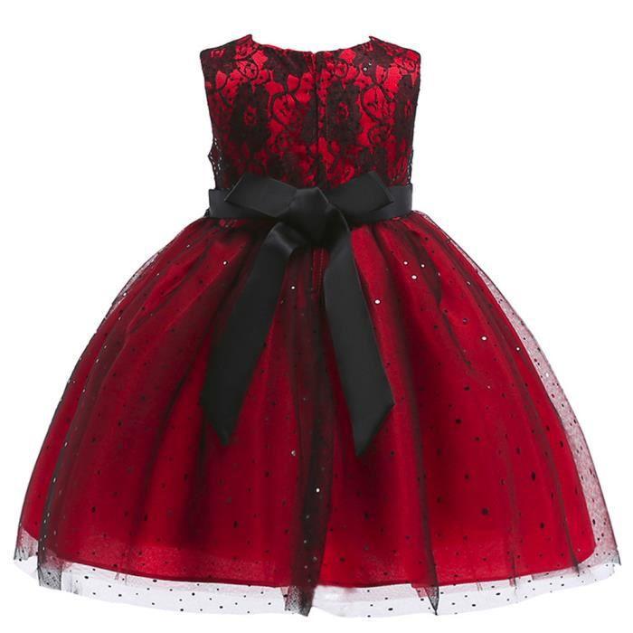 Vêtements Fille Fleurs Bowknot Dresss1404 Enfants Imprimé Manches Formels Princesse Kid Oppapps® ZwHSq