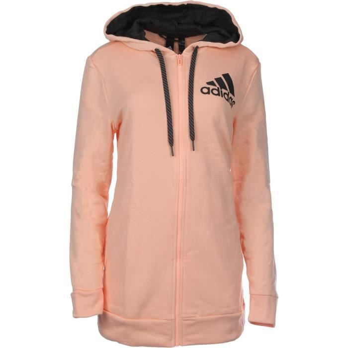 Mujer Capucha Multisport Coral Sudadera Adidas Chaussures A1Xq8Sw8