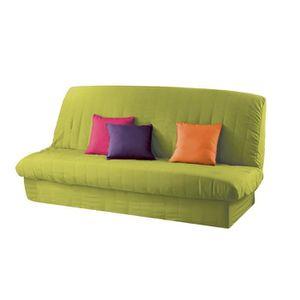 housse clic clac 130x190 achat vente pas cher. Black Bedroom Furniture Sets. Home Design Ideas