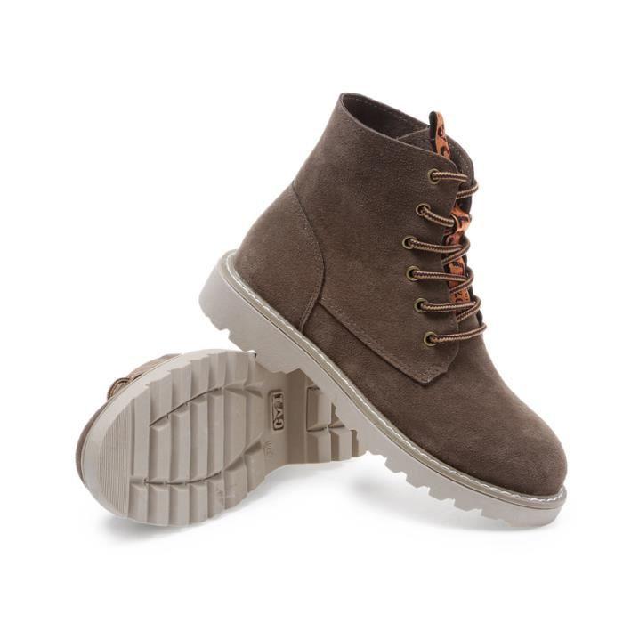 Bottes femme Bottes courtes Bottes avec coton Bottes pour l'hiver Chaussures étanches Bottes mode Chaussures chaudement Chaussures