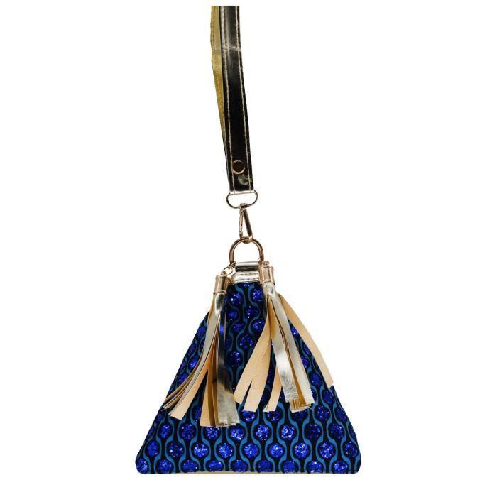 Gift Potli For Metal YCV3V Womens Bag Clutch Women Ethnic Beadwork Pouch With Batwa Silk qxfvt