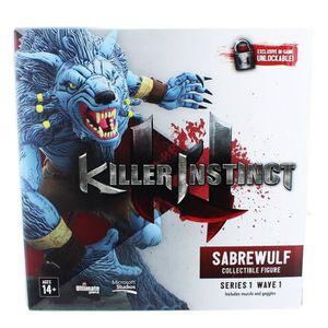 FIGURINE DE JEU Killer Instinct 6 pouces Figure Saberwulf L9565