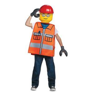 Décors de table Déguisement ouvrier de chantier LEGO® enfant
