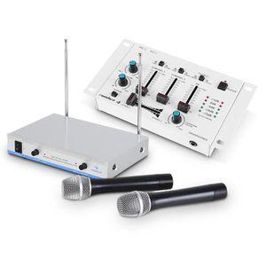 table de mixage pour micro sans fil