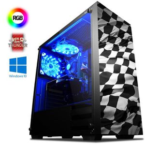 UNITÉ CENTRALE  VIBOX Agile 15 PC Gamer Ordinateur avec War Thunde