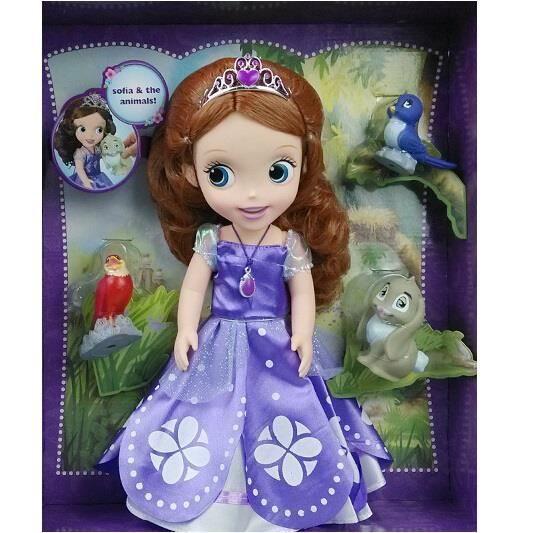 Poup e princesse sofia achat vente pas cher cdiscount - Princesse sofia et ariel ...