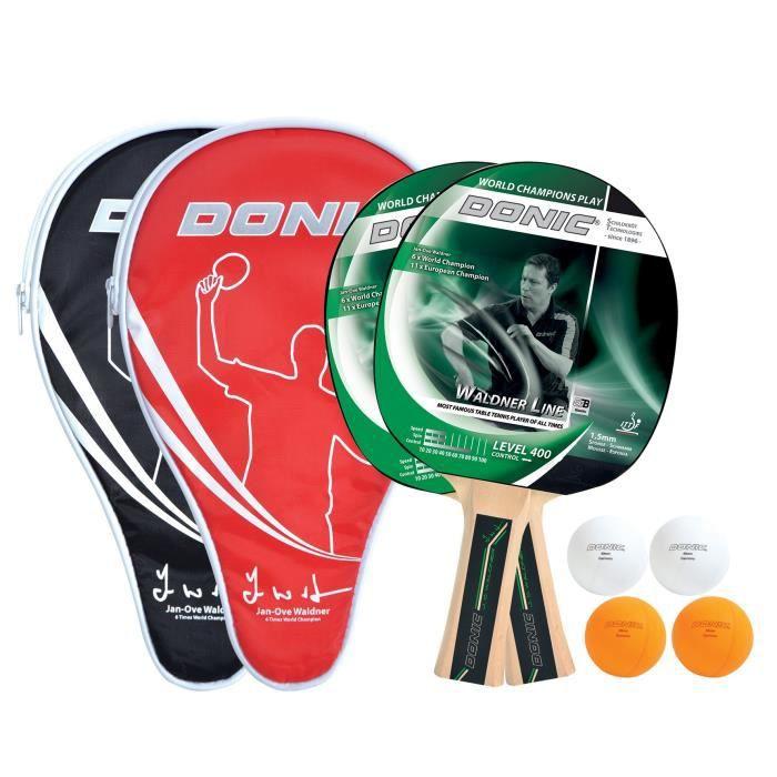 RAQUETTE TENNIS DE T. DONIC SCHILDKRÖT Set de 2 raquettes de tennis de t