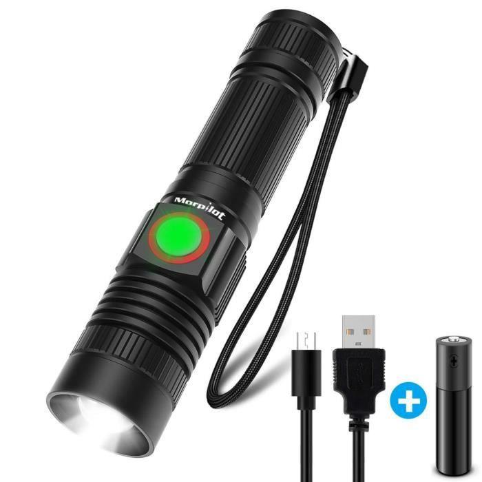 Zoomable Puissante Cree Poche 1000 Ultra Torche Rechargeable Lampe Led De Militaire L2 PuissanteMorpilot trshQCdx