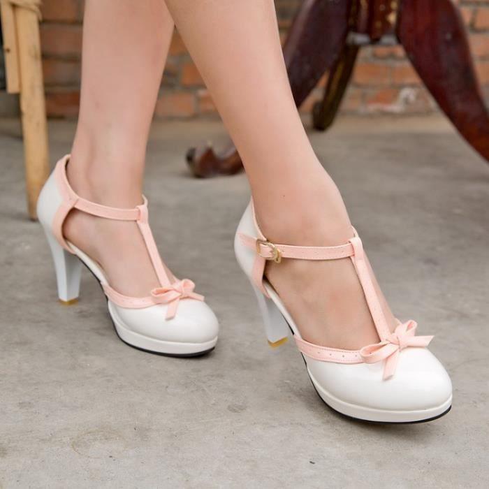 Moraillon à talons hauts sandales imperméables sandales mode enfant