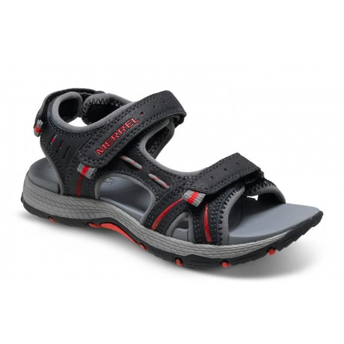 Merrell Tongs Panther Enfant black/red