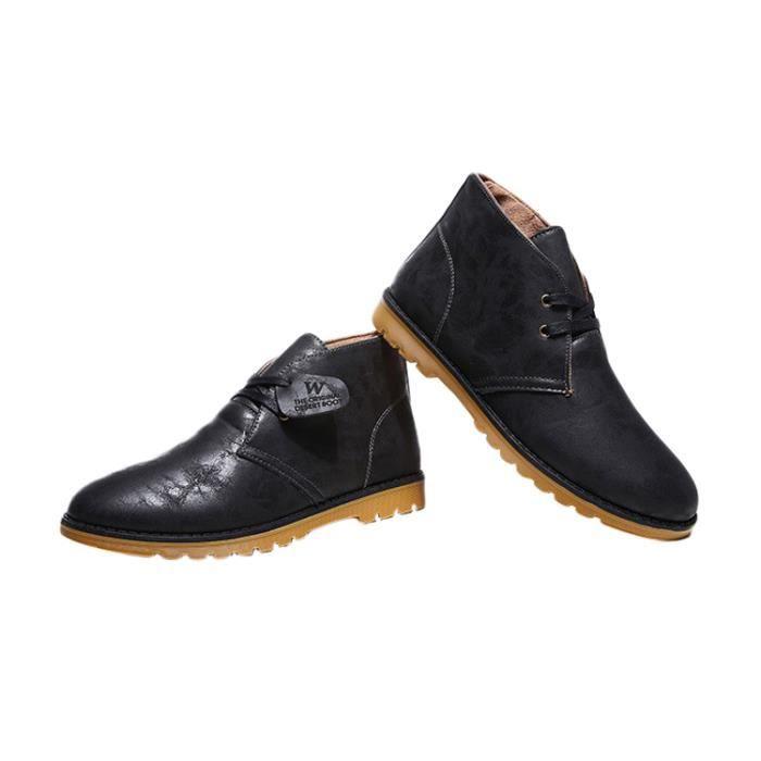 Chaussures Homme Mocassins Lacets Elégant Décontracté 3uv8C