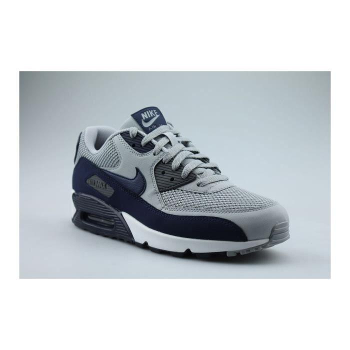 grande vente 5605d 900c7 Nike Air Max 90 Essential Gris Gris/bleu - Achat / Vente ...