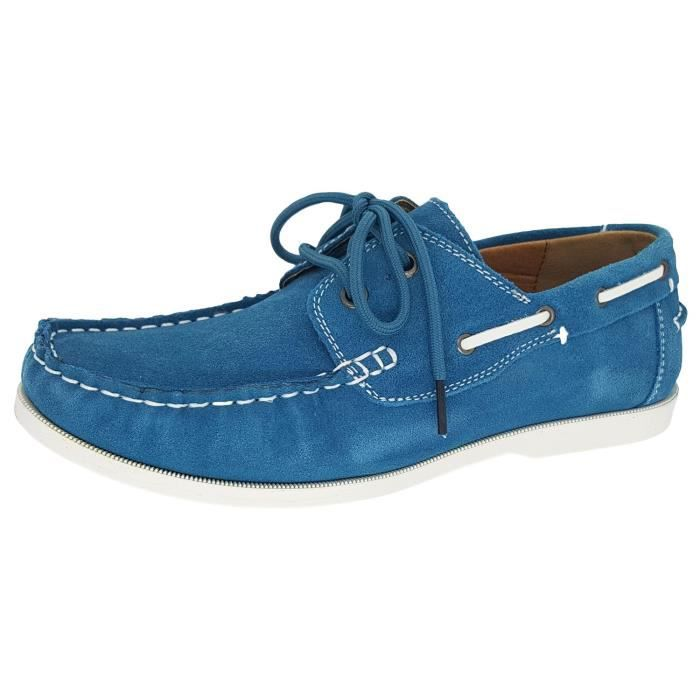 Classic Slip Suede Chaussures en mocassin NFHJT Taille-39