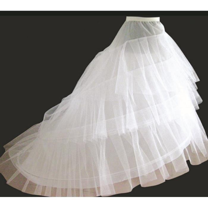 robe de mariee avec traine achat vente robe de mariee avec traine pas cher cdiscount. Black Bedroom Furniture Sets. Home Design Ideas