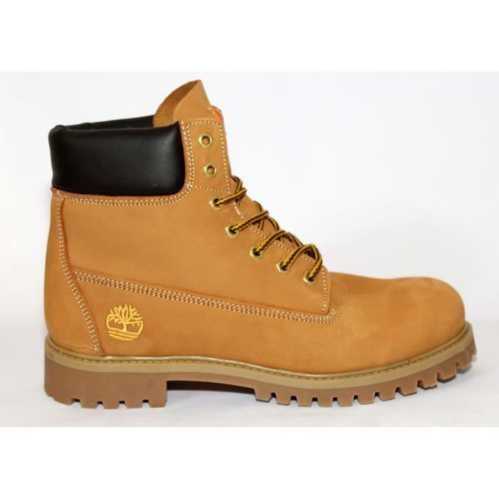 "BOTTES BOTTINES CUIR CAMEL ""TIMBERLAND""T 40 NEUVES"