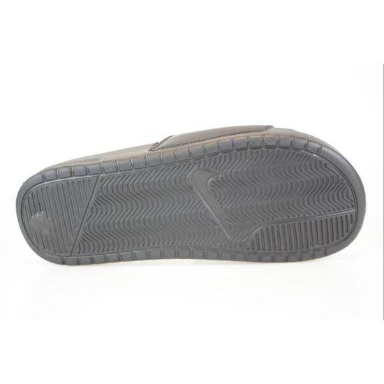 online store 3c03d d019a Nike Claquette Benassi JDI 343880 006 Noir Noir - Achat   Vente tong -  Cdiscount