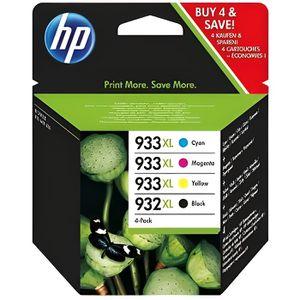 CARTOUCHE IMPRIMANTE HP Cartouche d'encre 932XL/933XL - 1 Pack - Bliste