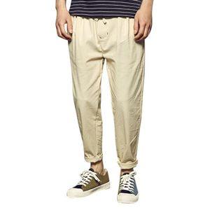 Pantalon lin homme - Achat / Vente Pantalon