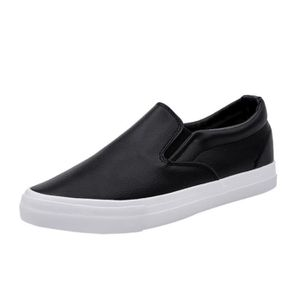 MOCASSIN Glissement sur Chaussures plates solides Casual Mo