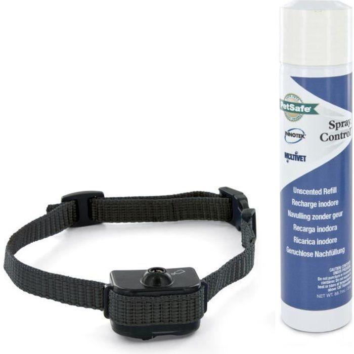 PETSAFE Collier anti-aboiement à spray S-M - Pour chien petit et moyen