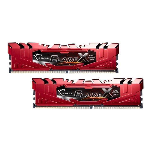 Kit de 32 Go (2 x 16 Go) DDR4 - 2133 MHz - Flare X - Dual Channel - 15-15-15-36 - 1.20v - Garantie à vieMEMOIRE PC - PORTABLE