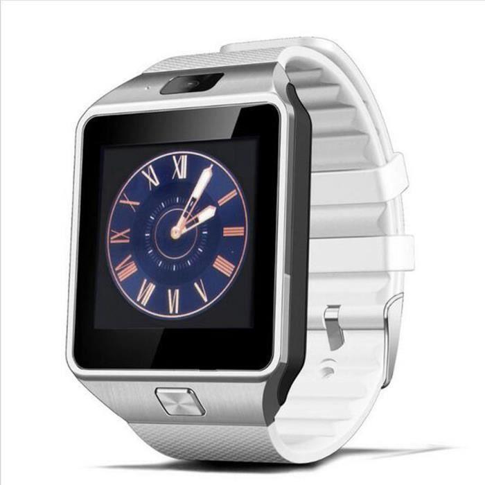 Téléphone portable DZ09D Smartwatch Téléphone MTK6261 Bluetooth veill