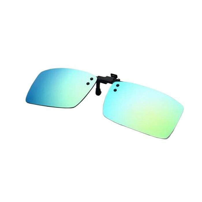 Lightweight Clip-On Lunettes de soleil Lentilles Conduite Outdoor [Color-17] S1Ro9uAr