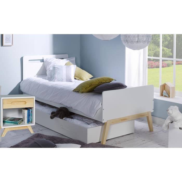 lit simple 90x200 lit complet vidaxl lit simple mtal gris x cm with lit simple 90x200 elegant. Black Bedroom Furniture Sets. Home Design Ideas