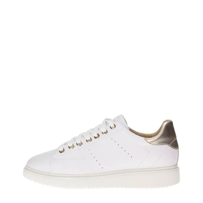 White Cdiscount Geox Sneakers Vente Blanc Femme Achat Basket rodBeCxWQ