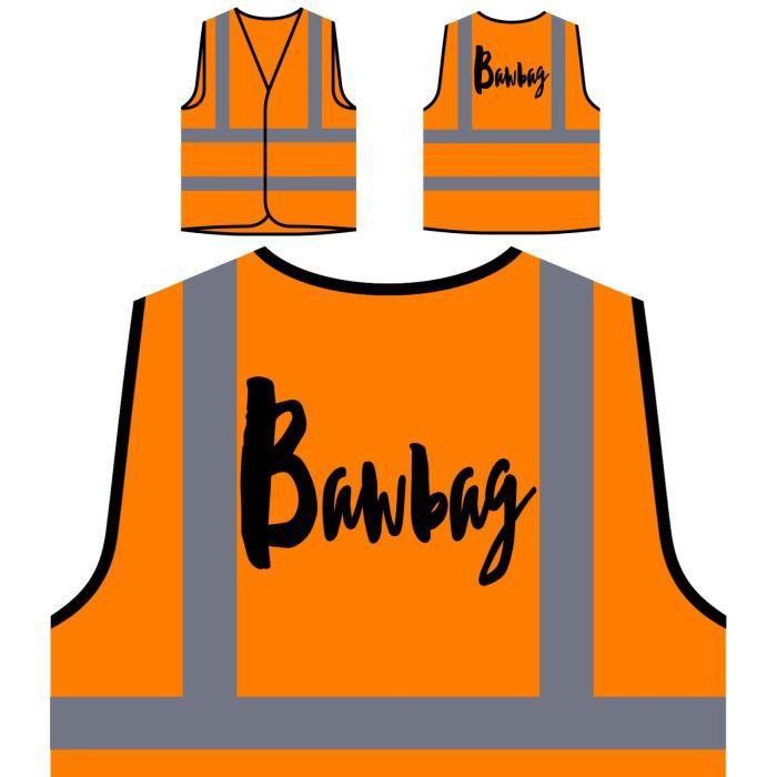 Orange De Visibilité Veste bawbag Haute À Protection Personnalisée Bawbagbagbagbagbagbagbagbagbagbag Per wEWwqd7Y