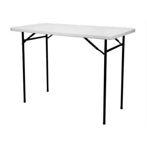 Table Haute Pliante - Rectangulaire - 152 X 76 X 110 Cm - Achat ...