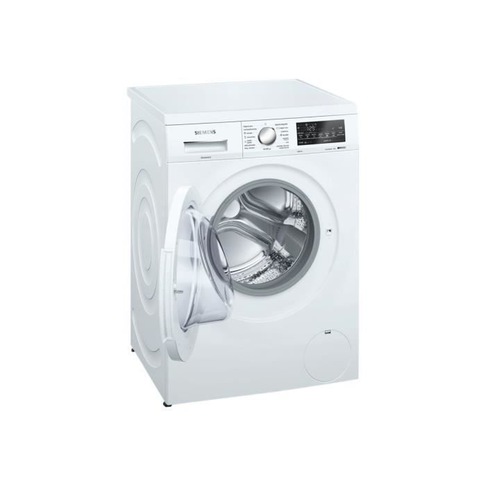 siemens iq500 wu14q468es machine à laver indépendant hauteur 82
