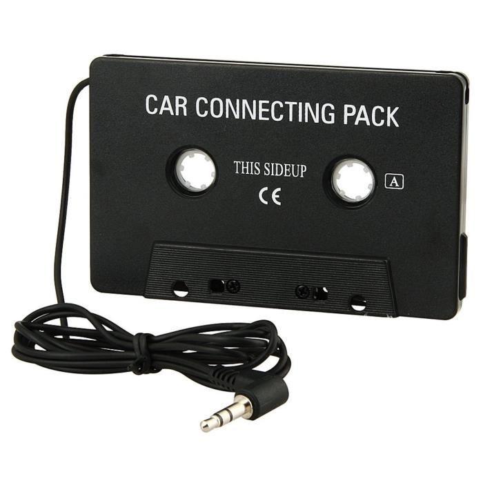 ADAPTATEUR AUDIO-VIDÉO  VSHOP® Cassette adaptateur de voiture pour CD, MP3