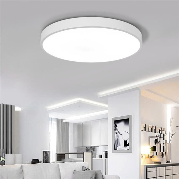 23x5cm Moderne LED Plafonnier Rond Simple Ultra Lampes Mince pour ...