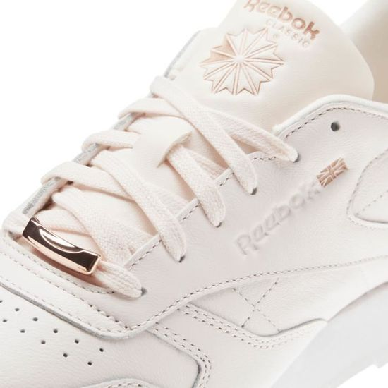 bbc93bb1a5e0b CHAUSSURES REEBOK CLASSIC LEATHER HW ROSE BS9880 Rose Rose - Achat   Vente  basket - Cdiscount