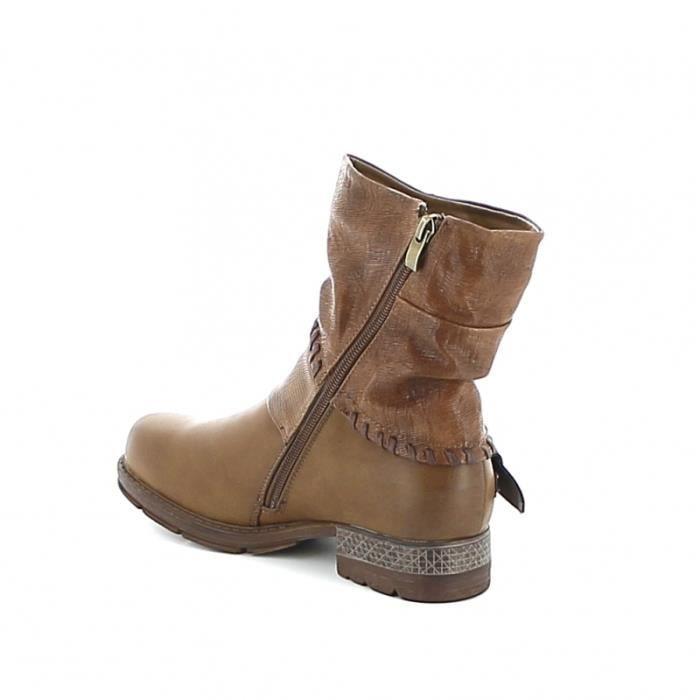 torsadée torsadée Camel boots Mi boots Mi torsadée boots Camel Mi cBn6aW6