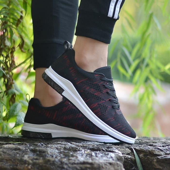 2017 Coussin Hommes Chaussures de course Chaussures de sport respirant Runner Hommes Sports de plein air Chaussures de marche pour MCjaZy3lZ0