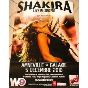 AFFICHE - POSTER Shakira - 80x120 cm - AFFICHE - POSTER - Envoi Rou