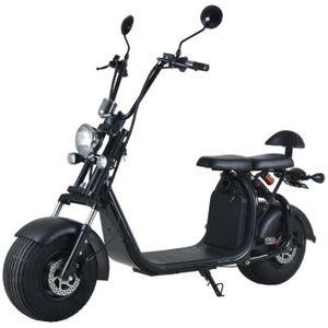 TROTTINETTE ELECTRIQUE Scooter électrique homologué EEC 1000W 12AH Noir