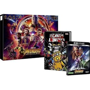 BLU-RAY FILM Avengers Infinity War - Steelbook Comics Book Le G